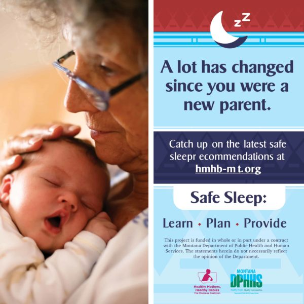 FB safe sleep ad options: A lot has changed since you were a new parent.