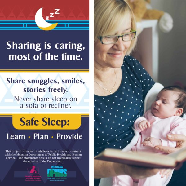 FB safe sleep ad options: Sharing is caring most of the time.