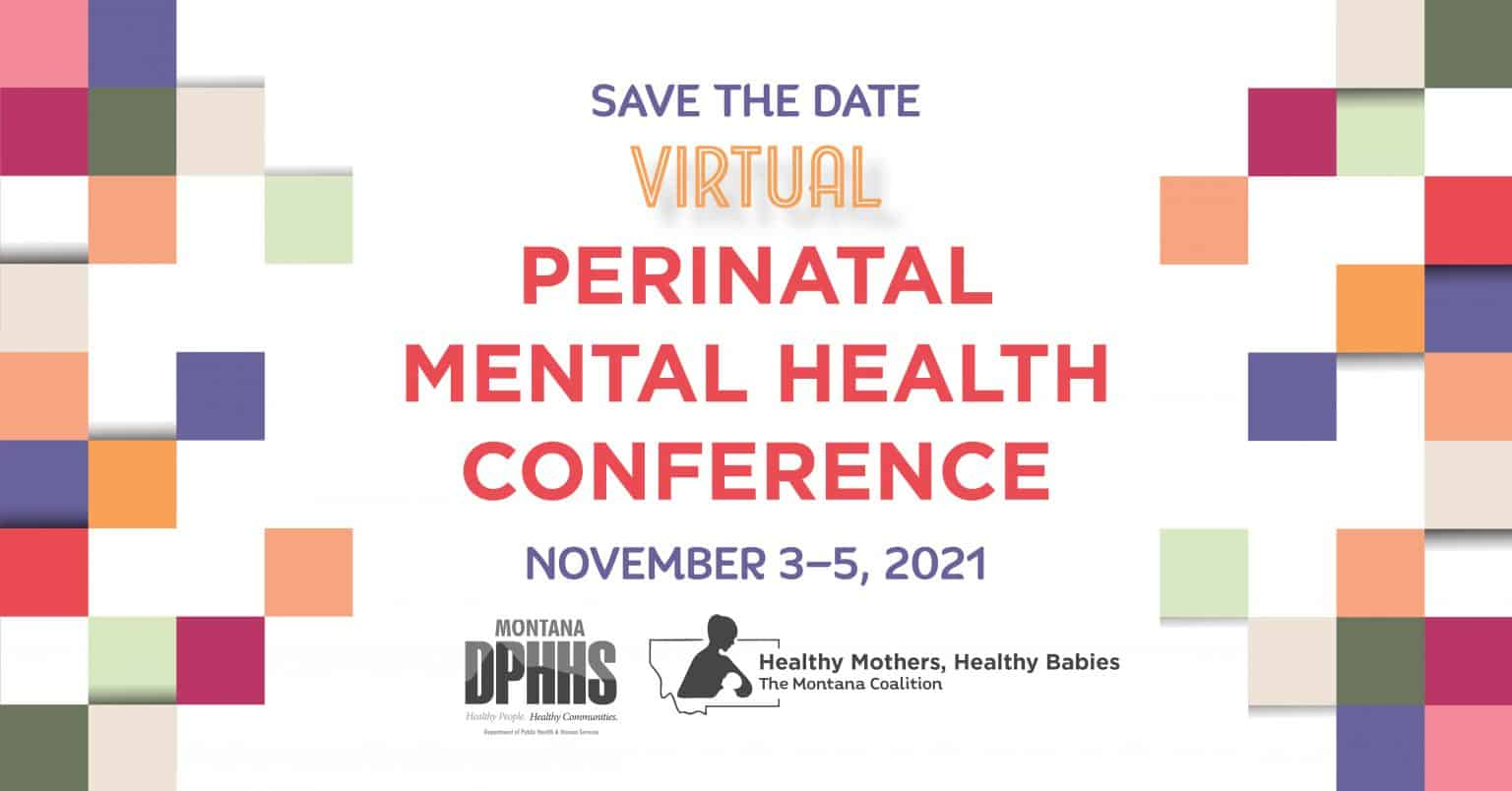 Save the Date for Perinatal Mental Health Conference